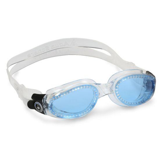 Aqua Sphere Kaiman Blue Lens Swimming Goggles