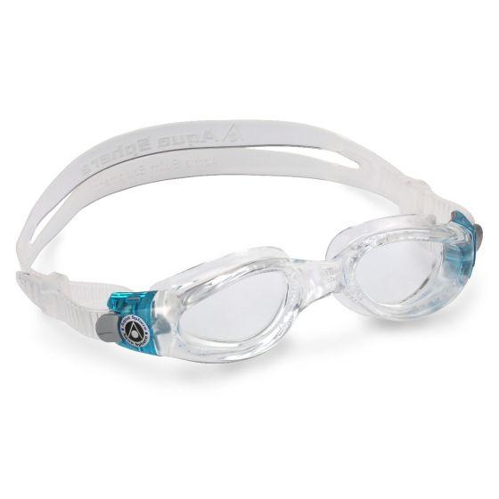 Aqua Sphere Kaiman Clear Lens Womens Swimming Goggles