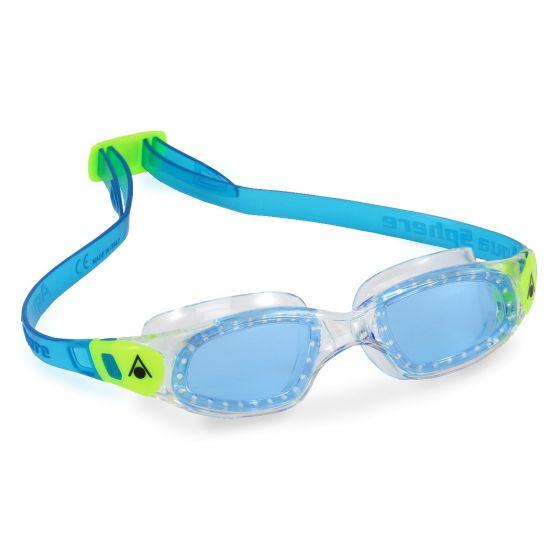 Aqua Sphere Kameleon Blue Lens Kids Swimming Goggles