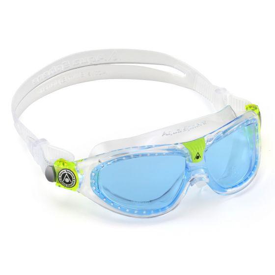 e30f89b7d2d Aqua Sphere Seal 2 Blue Lens Kids Swimming Goggles - Swimspace