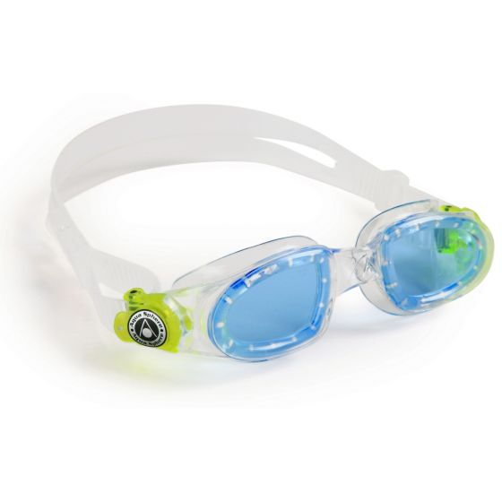 Aqua Sphere Moby Blue Lens Kids Swimming Goggles