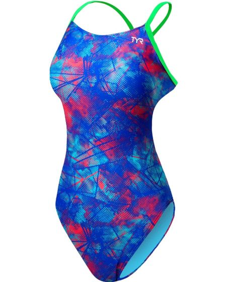 TYR Canvas Cutout Fit Womens Swimsuit