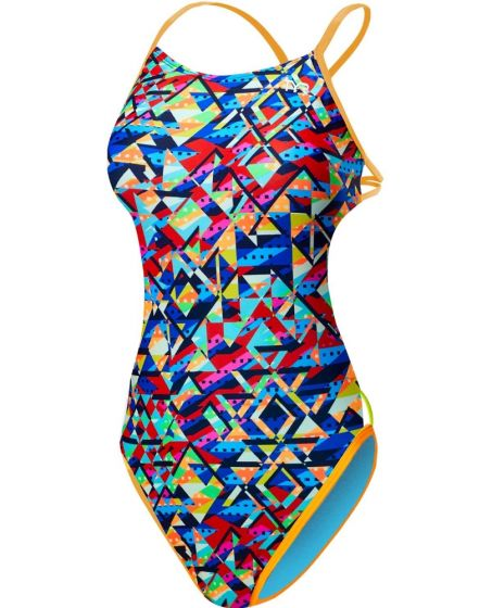 TYR Mosaic Mojave Cutout Fit Womens Swimsuit