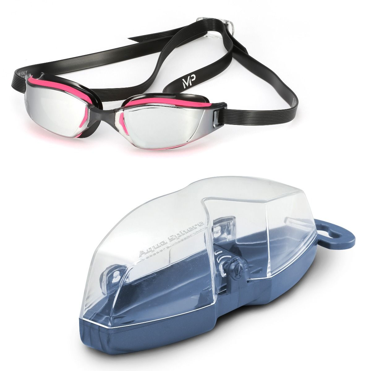 Michael Phelps Xceed Mirrored Lens Womens Swimming Goggles