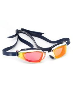 Michael Phelps XCEED Titanium Mirrored Lens Swimming Goggles