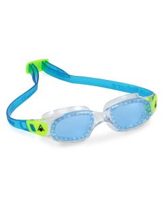 Aqua Sphere Kameleon Blue Lens Kids Swimming Goggles