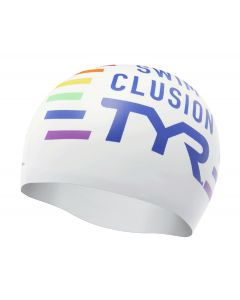 TYR Clusion Silicone Swimming Cap