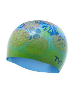 TYR Pineapple Fade Silicone Swimming Cap