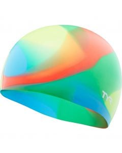 TYR Junior Tie Dye Silicone Swimming Cap