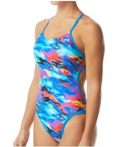 TYR Synthesis Mojave Cutout Fit Womens Swimsuit