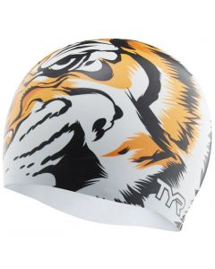 TYR Tiger Silicone Swimming Cap